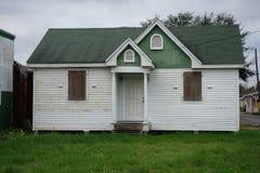 Galliano, Louisiana. An old house in Galliano, Louisiana in Lafourche Parish royalty free stock image