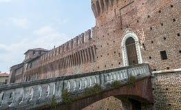 Galliate, castello Immagini Stock
