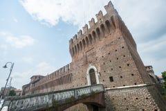 Galliate, castillo Imágenes de archivo libres de regalías