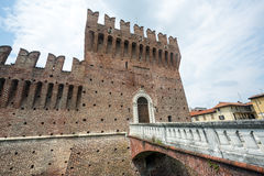 Galliate, Castle Royalty Free Stock Image
