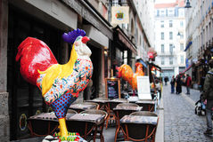 The Gallic rooster Royalty Free Stock Photography