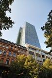 Gallileo skyscraper tower in Frankfurt Stock Photo