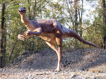 Gallimimus stock image