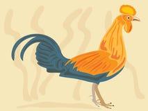 Gallinacei di giungla della Sri Lanka illustrazione di stock