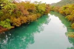 Gallinas río, San Luis potosi I imagen de archivo