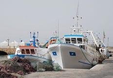 gallipoli拖网渔船 库存照片