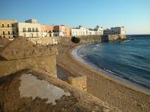 Gallipoli alte Stadt, Apulia, Italien Lizenzfreie Stockbilder