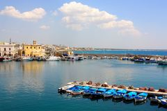 Gallipoli in Apulia, Italy Stock Image