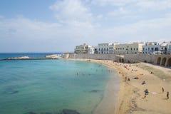 Gallipoli beach Stock Photography