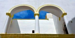 Gallipoli caratteristico Italia dei balconi Fotografia Stock Libera da Diritti