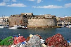 Gallipoli castle Stock Image
