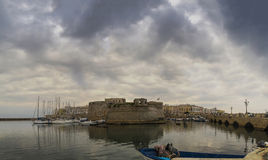 Gallipoli;castle panorama Royalty Free Stock Photography