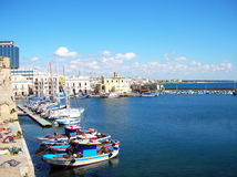 Gallipoli harbour Royalty Free Stock Photography