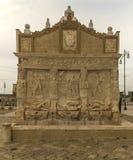 Gallipoli hellenic fountain. The wonderful hellenic fountain, in gallipoli,italy Royalty Free Stock Photography