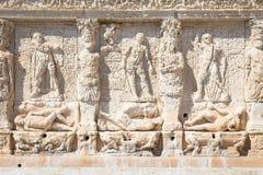 GALLIPOLI, ITALIE - fontaine grecque, 3ème siècle AVANT JÉSUS CHRIST Image libre de droits