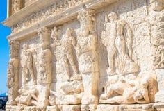 GALLIPOLI, ITALIE - fontaine grecque, 3ème siècle AVANT JÉSUS CHRIST Images stock