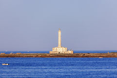Gallipoli lighthouse Royalty Free Stock Image