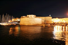 Gallipoli by night Royalty Free Stock Photo