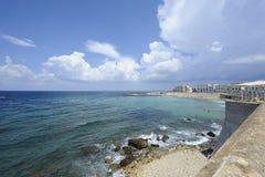 Gallipoli: perla del mare ionico fotografia stock libera da diritti