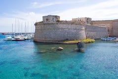 Gallipoli Schloss Stockfotos