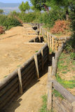 Gallipoli trenches Royalty Free Stock Photography