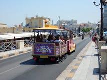 Gallipoli - Trenino pelo turisti Imagens de Stock