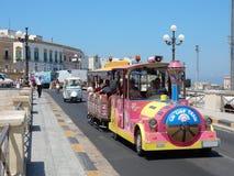 Gallipoli, Trenino turistico - Obrazy Stock