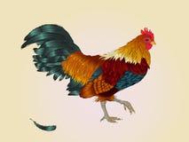 Gallo Anno del gallo Nuovo anno cinese del gallo Immagini Stock