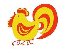 Gallo ardiente libre illustration
