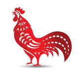 Gallo cinese Fotografie Stock