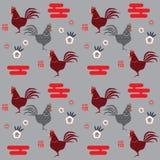 Gallo cinese del nuovo anno Fotografia Stock Libera da Diritti
