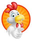 Gallo de la historieta Imagen de archivo libre de regalías