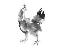 Gallo de la tinta Imagenes de archivo
