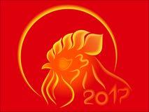 Gallo del fuego Imagen de archivo