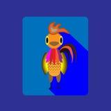 Gallo del fuego del año Fotografía de archivo