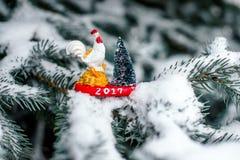 Gallo del símbolo 2017 Foto de archivo