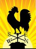 Gallo del Weathervane Imágenes de archivo libres de regalías