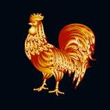 Gallo dell'oro Fotografie Stock Libere da Diritti