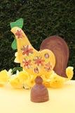 Gallo di Pasqua Fotografia Stock