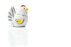 Gallo japonés del Año Nuevo aislado Imágenes de archivo libres de regalías