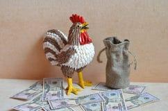 Gallo martillo Año de gallo Fotos de archivo libres de regalías