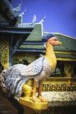 Gallo nella città antica di Bangkok Immagine Stock Libera da Diritti