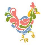 Gallo ornamental Foto de archivo