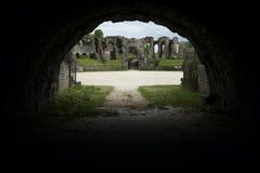 Gallo-römisches Amphitheater in Saintes stockfoto