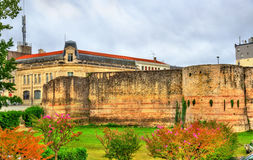 Gallo-Roman Ramparts in Dax - France Royalty Free Stock Photos