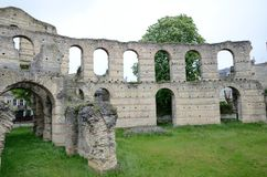 Gallo-Roman ruins of the ancient Palais Galien Stock Images