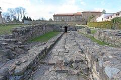 Gallo roman ruins in Lyon, France Royalty Free Stock Photo
