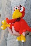 Gallo rosso per il nuovo anno Immagine Stock Libera da Diritti