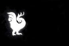 Gallo - símbolo del año 2017 Fotografía de archivo