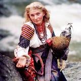 Gallo - símbolo del Año Nuevo Imagen de archivo libre de regalías